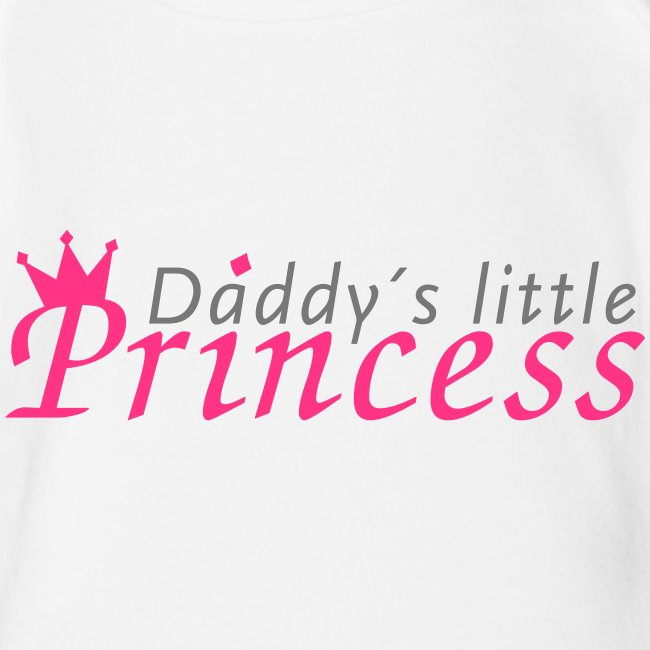 Daddy/'s Little Princess Baby Body Kurzärmlig Schwangerschaft Geburt Geschenk