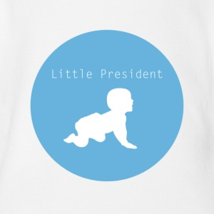 Little President - Organic Short-sleeved Baby Bodysuit