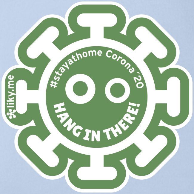 Corona Virus #stayathome green