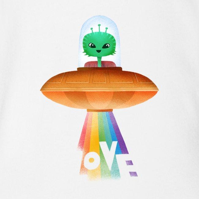 Beam up som love