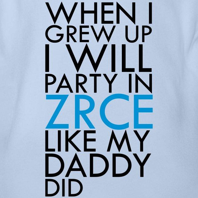 Grew up in Zrce