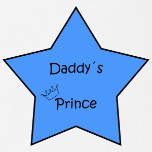 Daddy's Prince Star - Organic Short-sleeved Baby Bodysuit