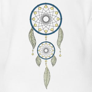 Dreamcatcher Shirt - Baby Bio-Kurzarm-Body