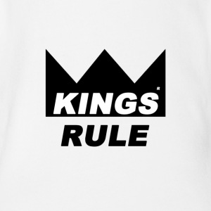 Kings Rule - Organic Short-sleeved Baby Bodysuit