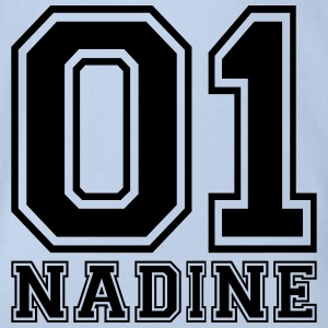 Nadine - Name - Baby Bio-Kurzarm-Body