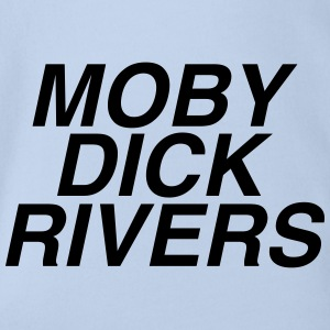 Moby dick rivers - Organic Short-sleeved Baby Bodysuit