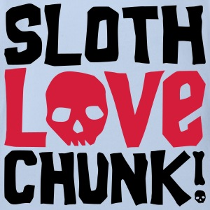 Sloth Love Chunk! - Organic Short-sleeved Baby Bodysuit