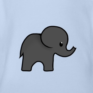 ellie-phant - Organic Short-sleeved Baby Bodysuit