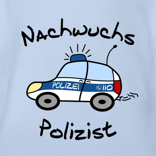 Nachwuchs Polizist