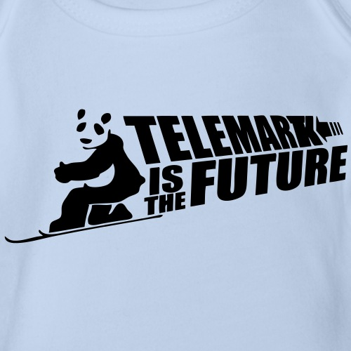 Telemark and Panda are the Future - Body Bébé bio manches courtes