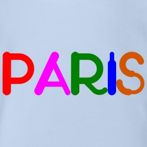 PARIS - Baby Bio-Kurzarm-Body
