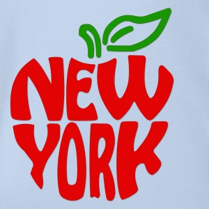 New York - Organic Short-sleeved Baby Bodysuit