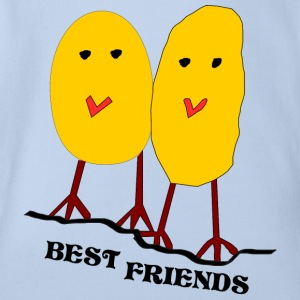 Friends - Baby Bio-Kurzarm-Body