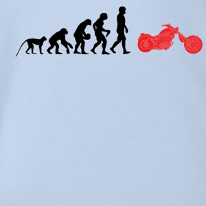 Bike Evolution - Organic Short-sleeved Baby Bodysuit