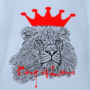 King of Lions - Organic Short-sleeved Baby Bodysuit