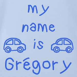 MEIN NAME IST GREGORY - Baby Bio-Kurzarm-Body