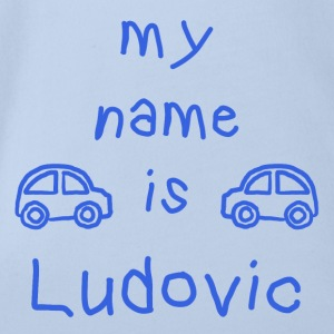 Ludovic MY NAME IS - Baby Bio-Kurzarm-Body