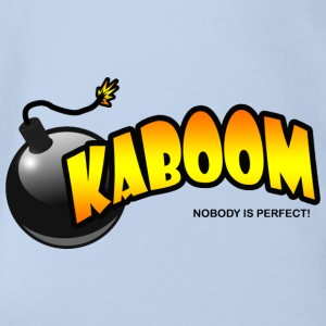 Kaboom - Organic Short-sleeved Baby Bodysuit