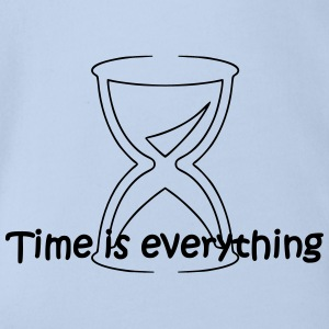Time is everything - Baby Bio-Kurzarm-Body