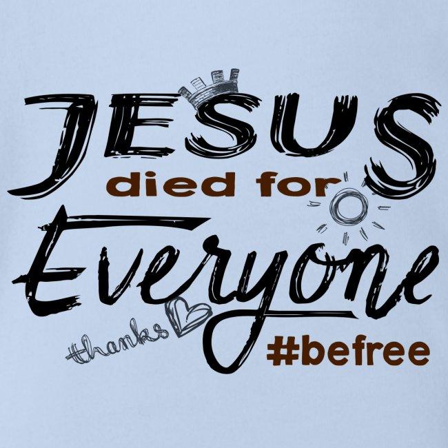 Jesus died for Everyone scwarz