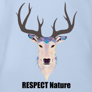respect Nature - Organic Short-sleeved Baby Bodysuit