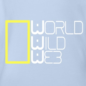 World Wild Web - Organic Short-sleeved Baby Bodysuit