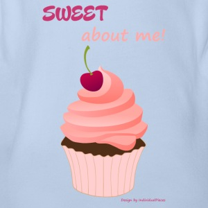 Sweet about me - Baby Bio-Kurzarm-Body