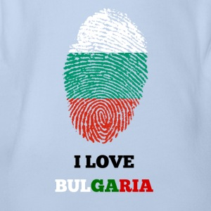 I LOVE BULGARIA - Baby Bio-Kurzarm-Body