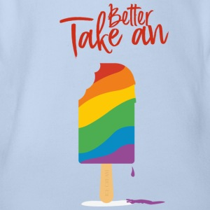Better Take A Ice Cream - Organic Short-sleeved Baby Bodysuit