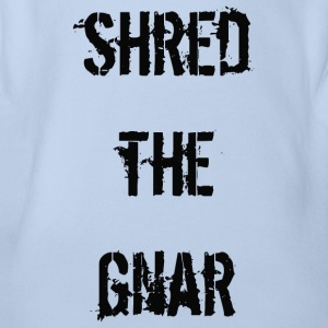 Shred the Gnar - Organic Short-sleeved Baby Bodysuit