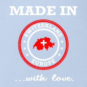 Made in Switzerland ... with love - Organic Short-sleeved Baby Bodysuit