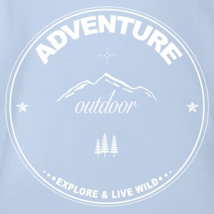 Adventure - Outdoor - Organic Short-sleeved Baby Bodysuit
