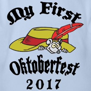 2017 First Oktoberfest - Organic Short-sleeved Baby Bodysuit