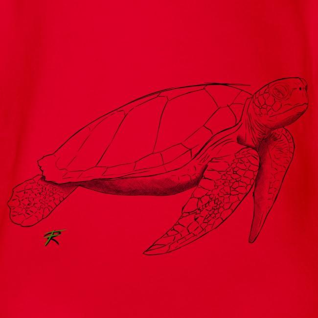 Sea turtle sketch