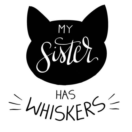 My Sister has Whiskers n°2 - Baby Bio-Kurzarm-Body