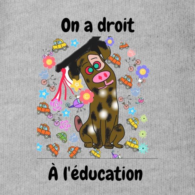 On a droit à l'éducation