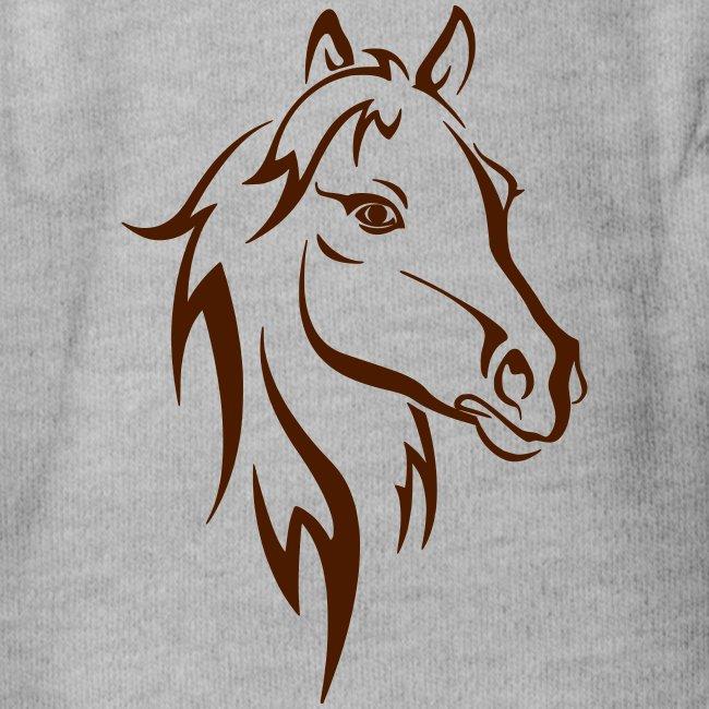 Vorschau: Horse - Baby Bio-Kurzarm-Body