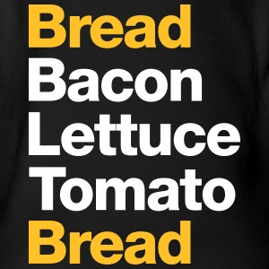 Recipe For A BLT Sandwich - Organic Short-sleeved Baby Bodysuit