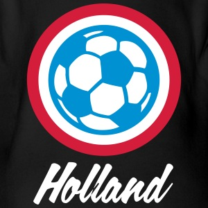 Holland Football Emblem - Body bébé bio manches courtes