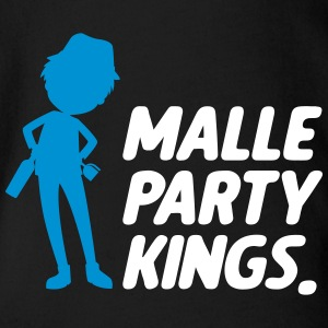 Malle party Kings - Baby Bio-Kurzarm-Body