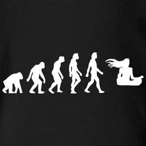 The Evolution Of A Guru - Organic Short-sleeved Baby Bodysuit