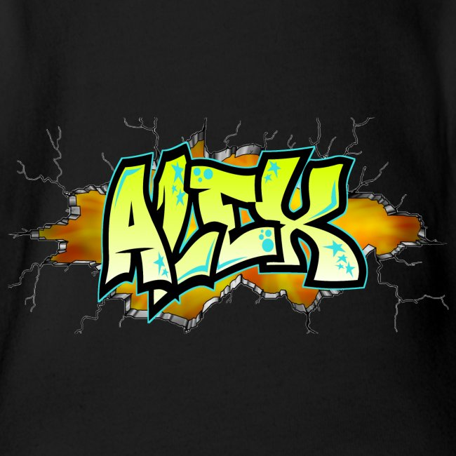 Graffiti ALEX printable