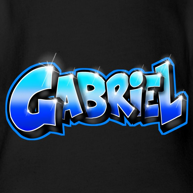 GABRIEL Graffiti name printable for gift