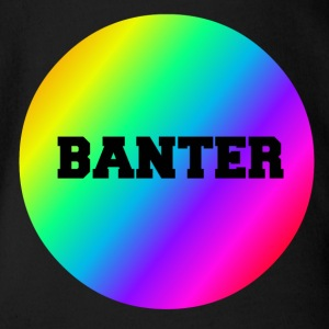 Liten Rainbow Banter Badge - Ekologisk kortärmad babybody