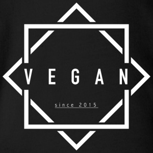 VEGAN since 2015 - Organic Short-sleeved Baby Bodysuit