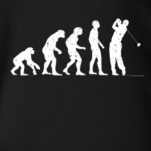 EVOLUTION GOLF! - Ekologisk kortärmad babybody