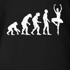 EVOLUTION BALLERINA! - Baby Bio-Kurzarm-Body