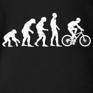 BIKE EVOLUTION! - Organic Short-sleeved Baby Bodysuit