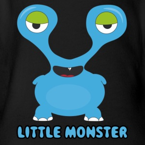 monster20 - Organic Short-sleeved Baby Bodysuit