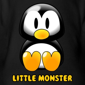 monster178 - Organic Short-sleeved Baby Bodysuit